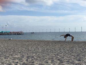 yoga Amager strand